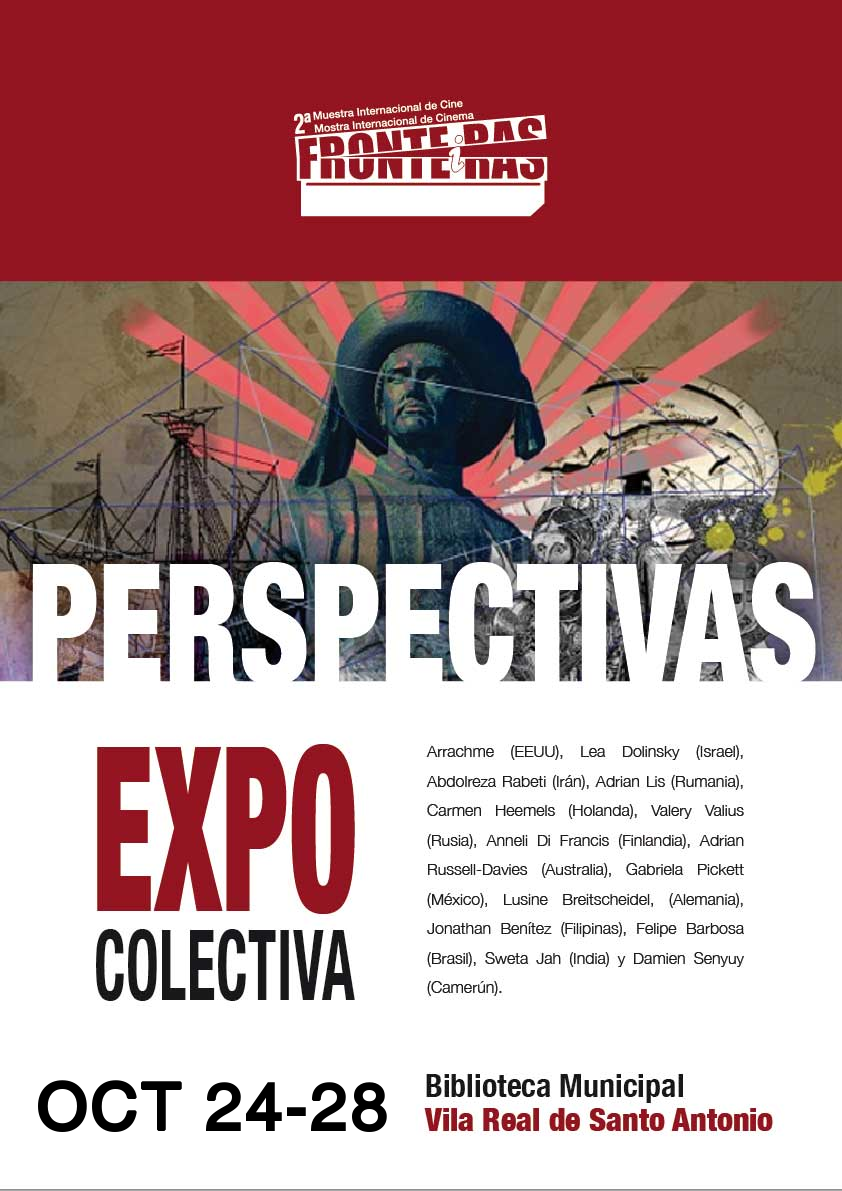 cartel exposicion colectiva perspectivas