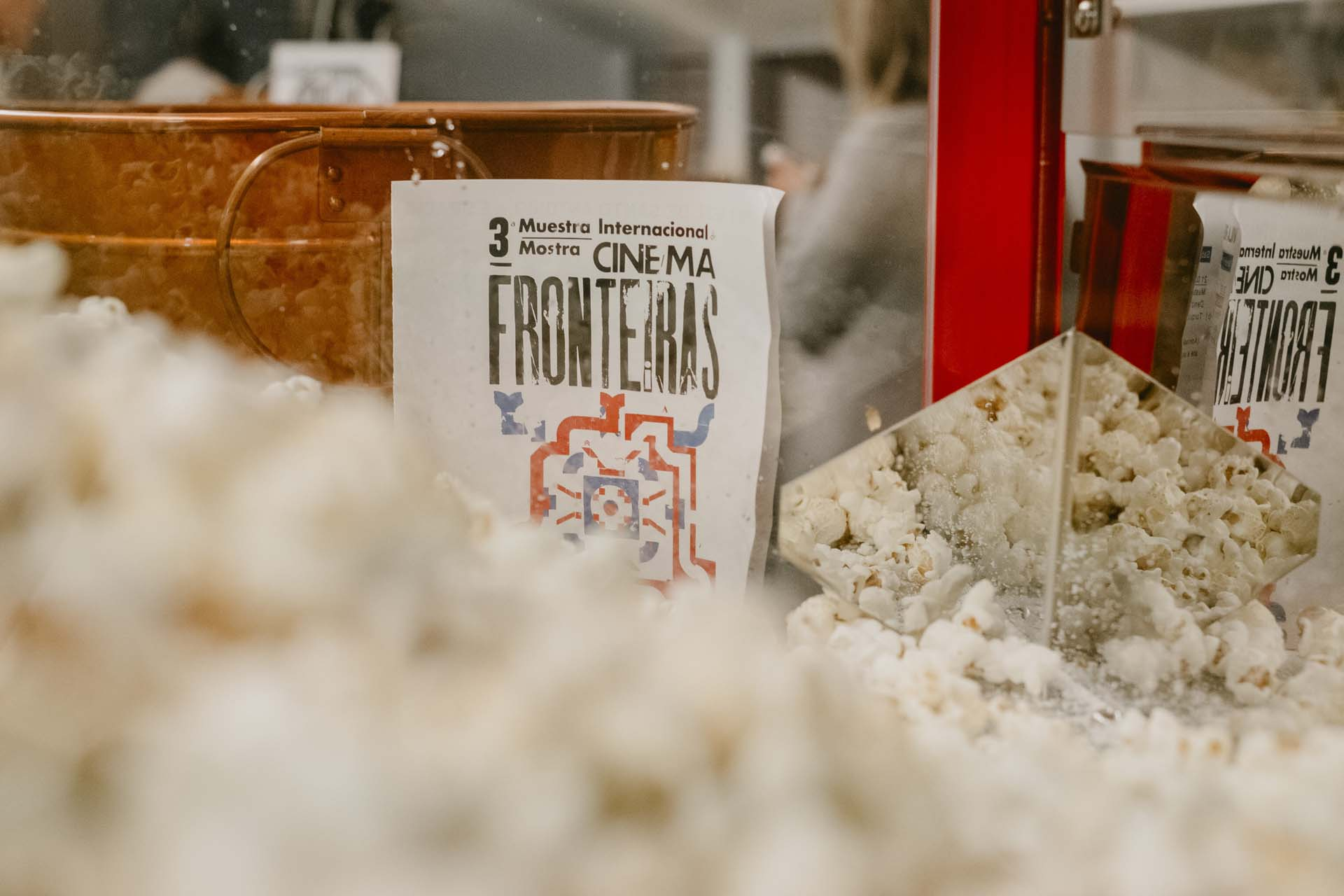 Las palomitas en la muestra internacional de cine FRONTEiRAS