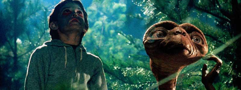 E.T. El Extraterrestre Steven Spielberg
